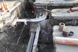 Werkleitungsbau